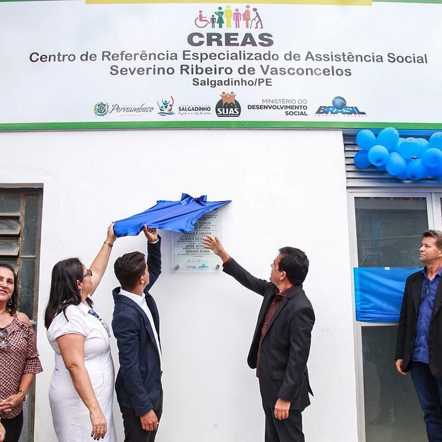 Inauguração do CREAS